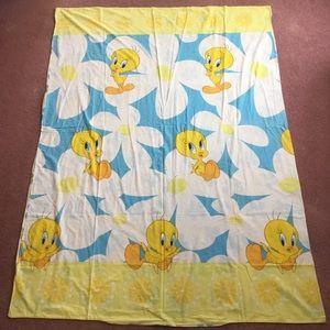 Tweety Twin Duvet Cover Vintage 90s Looney Tunes